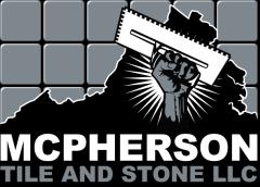McPherson Stone and Tile Logo